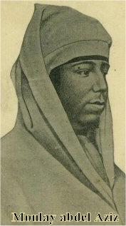 En 1894 <b>...</b> - Pho-Maroc.Perso.MoulayAbdelAzizPortrait
